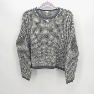 Eileen Fisher Popcorn Knit Crew Sweater